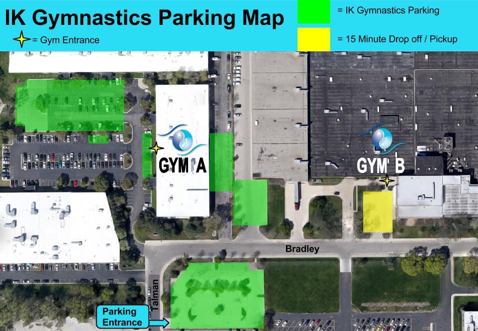 Bigger Parking Map